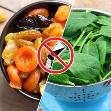 7 أكلات تقلل الأملاح في الجسم!