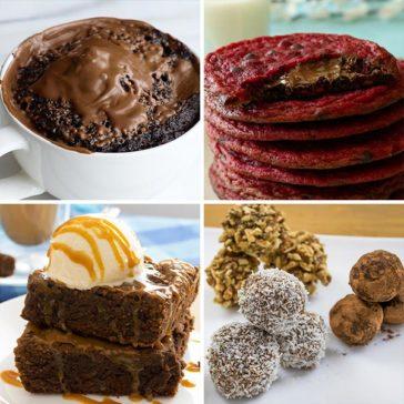 4 حلويات لعشاق الشوكولاتة