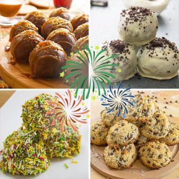 4 حلويات سهلة لإحتفال رأس السنة